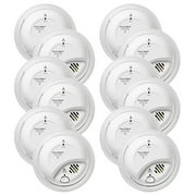 BRK Brands SC9120B Hardwire Combination Smoke/Carbon Monoxide Alarm with Battery Backup (12 Pack)
