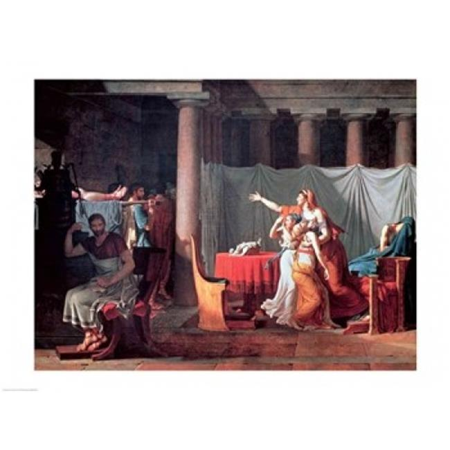 Posterazzi BALXIR44247LARGE Lictors Bearing To Brutus The Bodies of His Sons 1789 Poster Print by Jacques-Louis David - 36 x 24 in. - Large - image 1 de 1