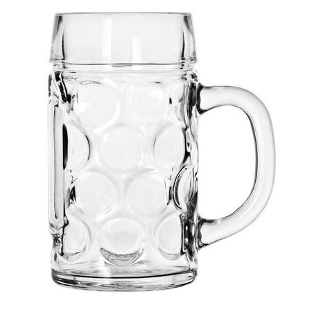 Libbey Oktoberfest Bavarian Isar Beer Mug - Half Liter - Disposable Beer Mugs