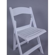 Commercial Seating Products Nexus Resin Folding Dining Chair with Slatted Seat