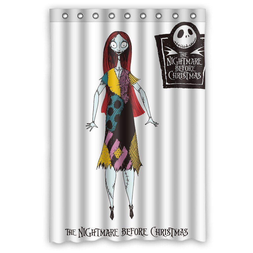 DEYOU The Nightmare Before Christmas Sally Shower Curtain Polyester ...