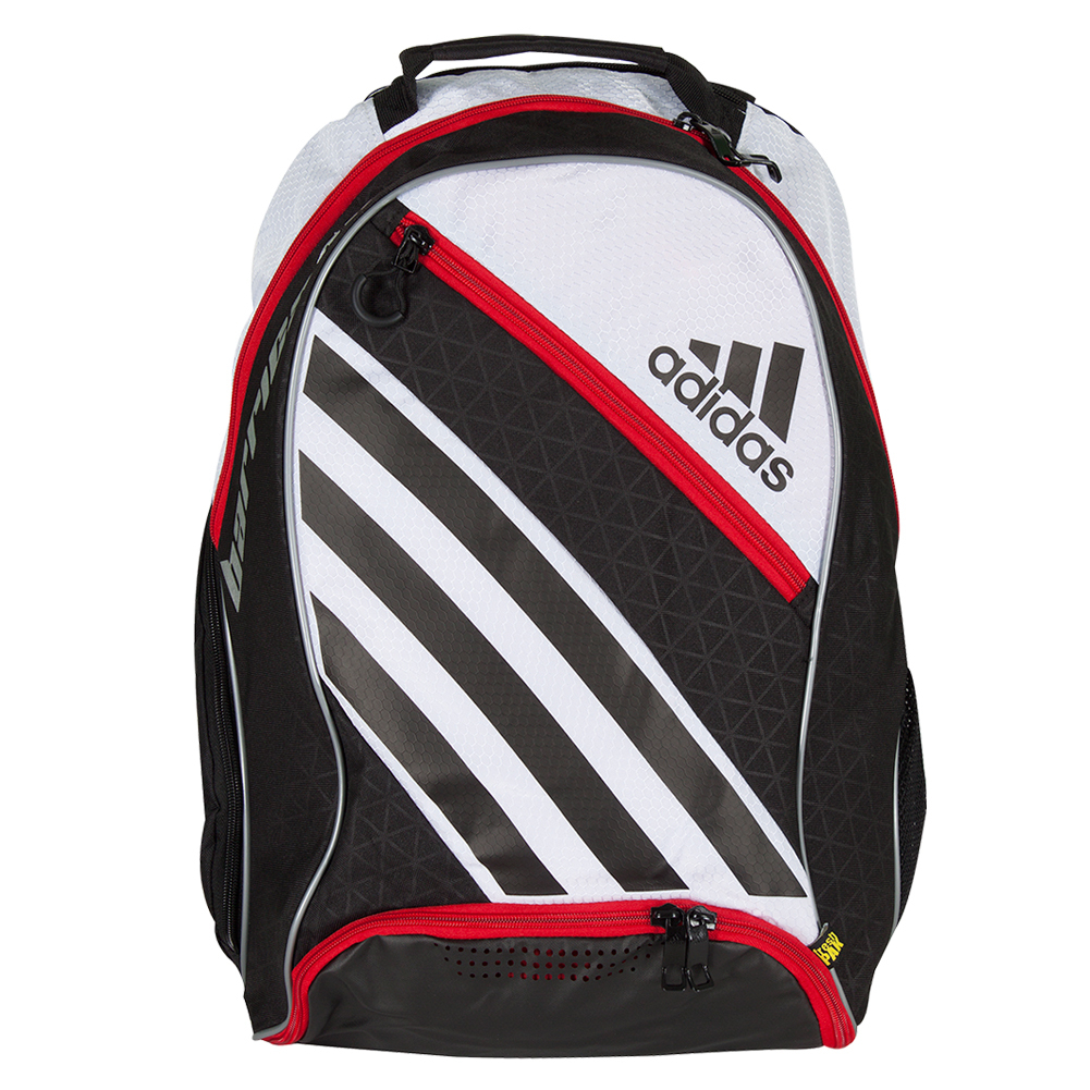 Adidas Barricade IV Tennis Backpack White and Black