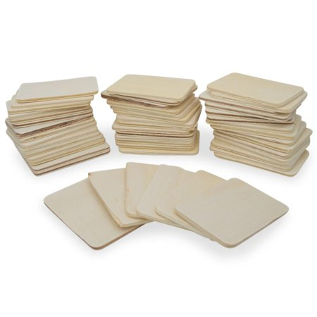 Set of 50 Blank Unfinished Wooden - Unfinished Wood Plaques