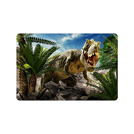 MKHERT Cool Giant Dinosaur 3D Render Doormat Rug Home Decor Floor Mat Bath Mat 23.6x15.7 inch](Giant Floor Keyboard)