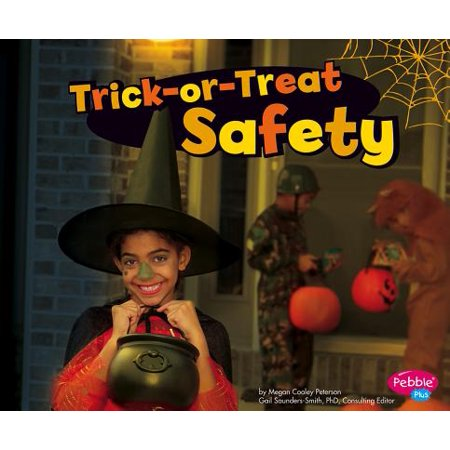 Halloween Safety Worksheets (Trick-Or-Treat Safety)