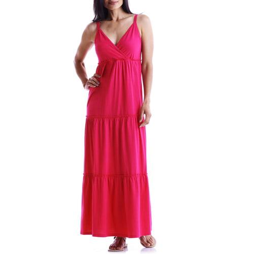 Faded Glory - Women's Organic Cotton Maxi Dress