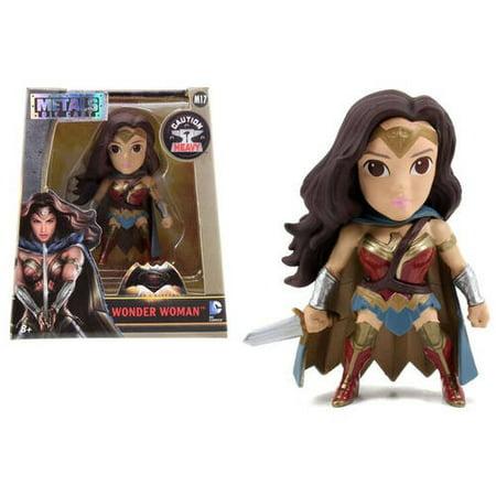 Batman V Superman 4  Dc Movie Figure  Wonder Woman With Cape Window Box