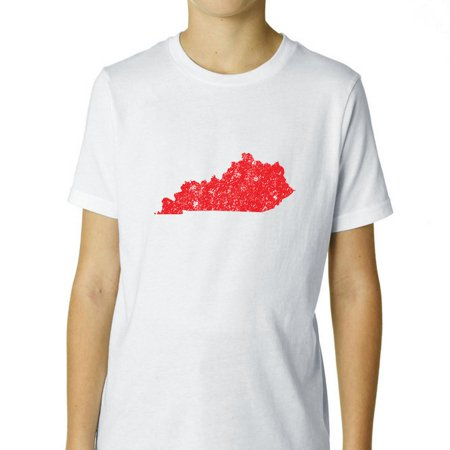 Kentucky Red Republican - Election Silhouette Boy's Cotton Youth T-Shirt ()
