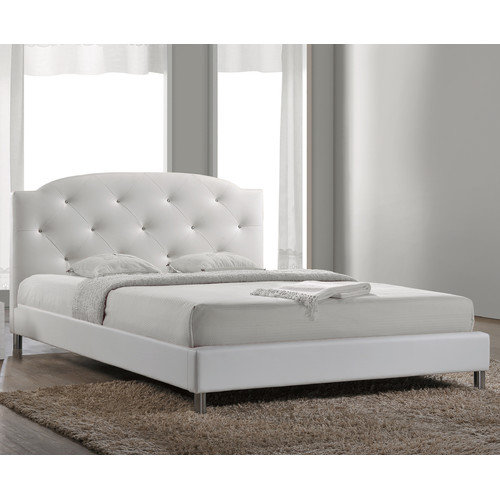 Wholesale Interiors Upholstered Panel Bed