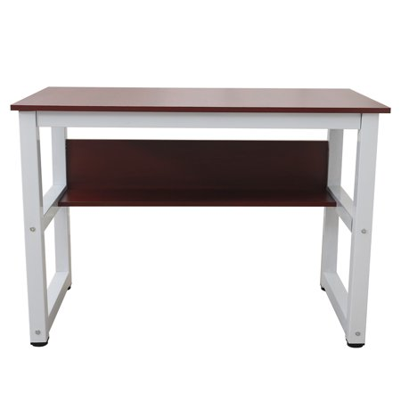Office Furniture Desks Rectangle Computer Desk Wood Work Station Writing Table Home Office Furniture Apartment Study Desk for Students