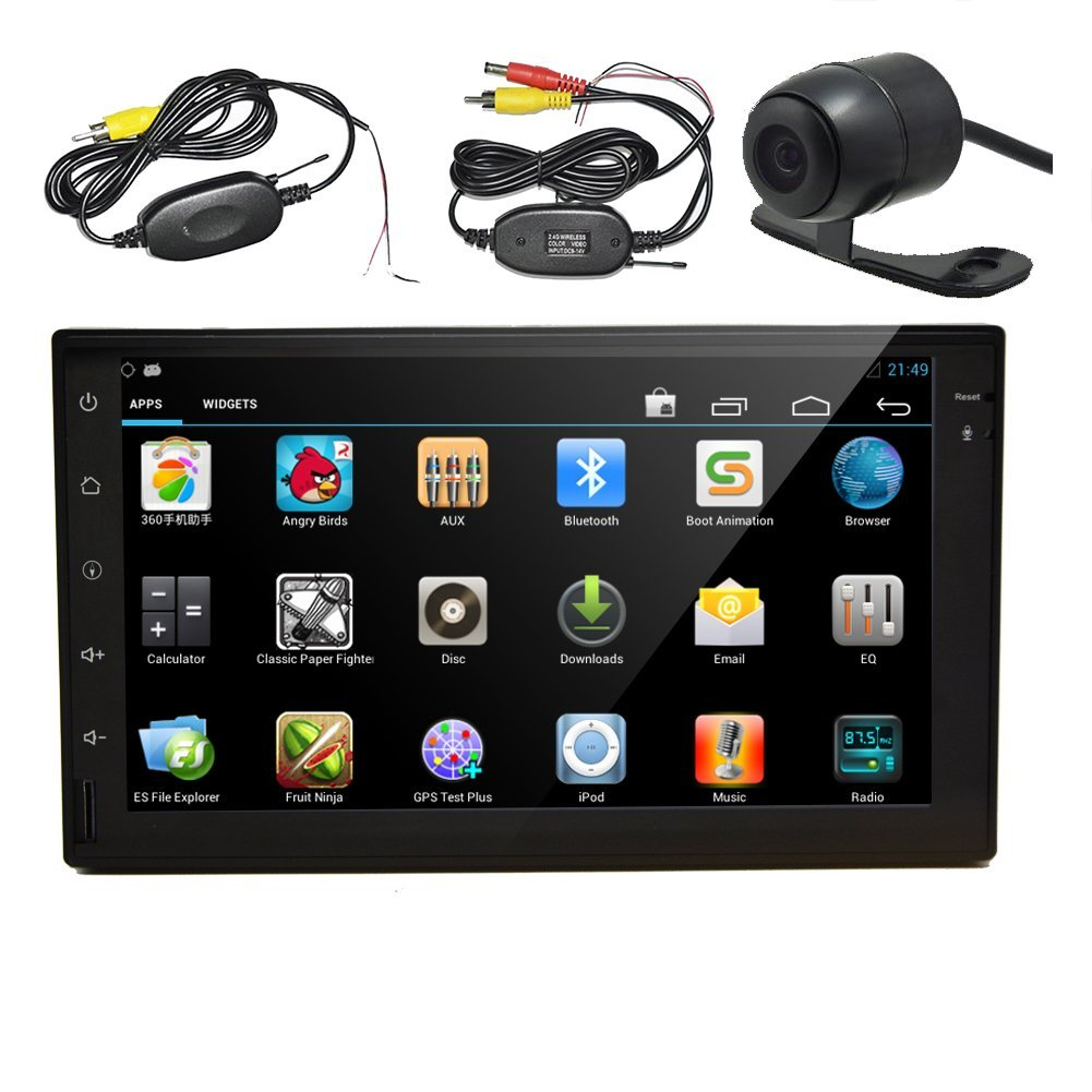 Wireless Camera for parking Eincar 7 Inch Full HD Touch S...