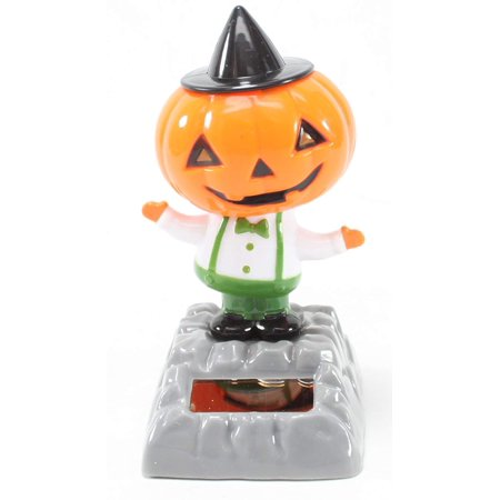 Dancing Pumpkin with Hat Solar Toy Halloween Nightmare Party Home Decor Gift New (Dance Party Halloween)