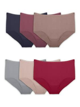 Royal Lion Womens Boy Brief Underwear Breast Cancer Pink Ribbon