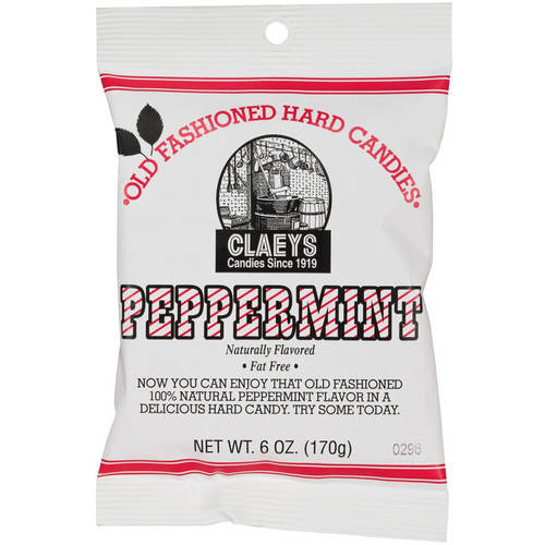 Claey's Peppermint Hard Candy, 6 Oz.