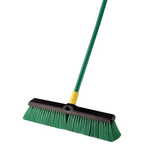 "Quickie Bulldozer 18"" Indoor/Outdoor Push Broom"