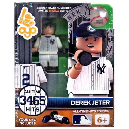 MLB Derek Jeter Minifigure [All-Time Hits Edition]
