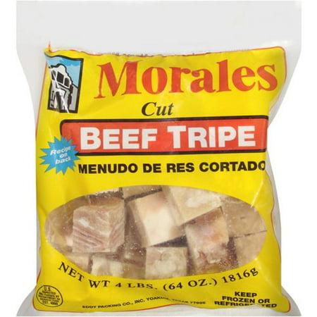 Morales Cut Beef Tripe 4 Lbs Walmartcom