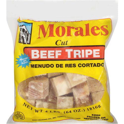 Morales Cut Beef Tripe, 4 lbs