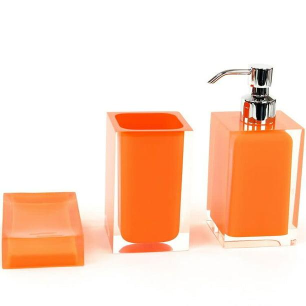 Nameeks Ra500 Gedy Bathroom Accessories, Bathroom Accessories Orange