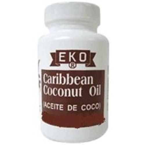 EKO Caribbean Coconut Oil 2 oz (Pack of 3)