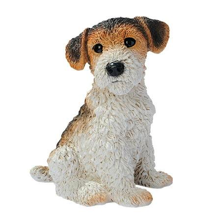 Fox Terrier Puppy Dog Statue