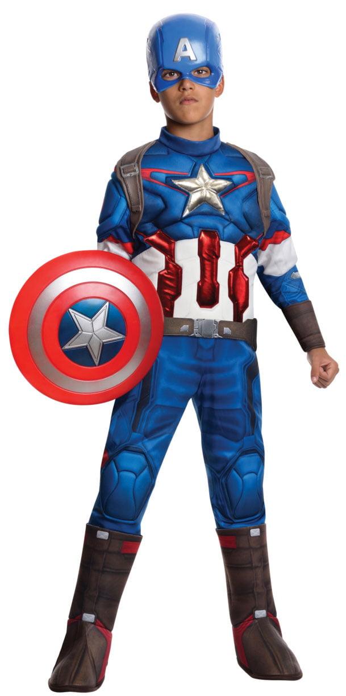 Captain America Retro Basic Child Costume