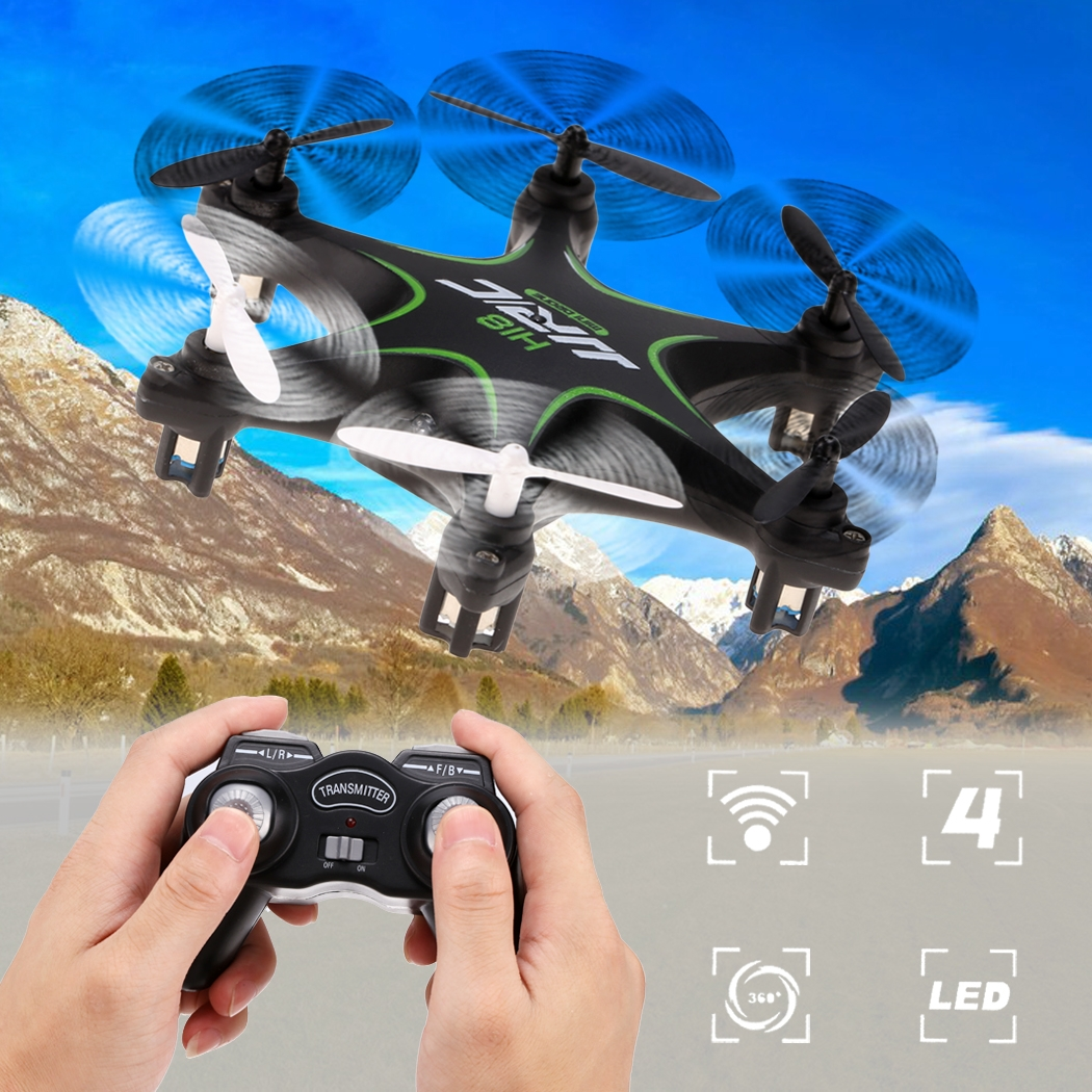 2.4GHz 6-Axis Transmission Quadcopter RC Mini Drone Remote Control Helicopter