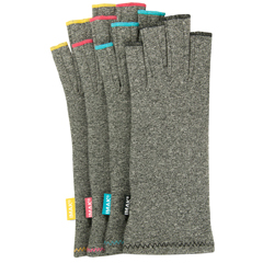 IMAK® Compression Arthritis Gloves - Ruby Stitching (pair) Medium