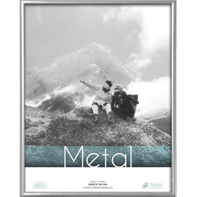Timeless Frames 62035 Metal Frames Silver Wall Frame, 12 x 18 in.