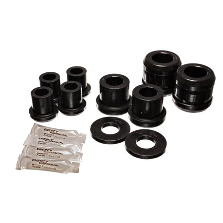 Energy Suspension 04-07 Mazda RX8 Black Front Control Arm Bushing Set