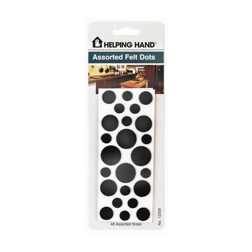 Helping Hand Assorted Felt Furniture Guard Glides, Tips and Pads