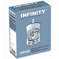 Infinity Automatic Coding Blood Glucose Monitoring System Kit, Model: G5-003Sk - 1 Ea