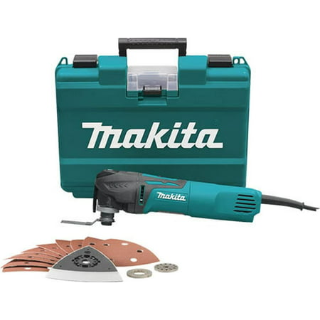 MAKITA TM3010CX1 Corded Oscillating Tool Kit,120V,3A