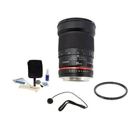 Rokinon 35mm f/1 4 Manaul Focus, Manual Focus Lens for