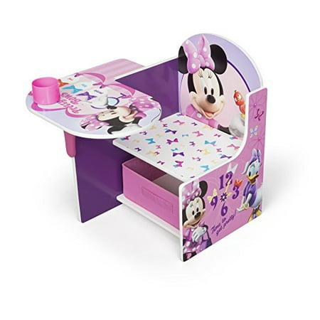 Disney Minnie Mouse Chair Desk With Storage Bin By Delta