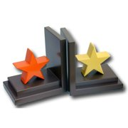 One World Stars Book Ends (Set of 2)