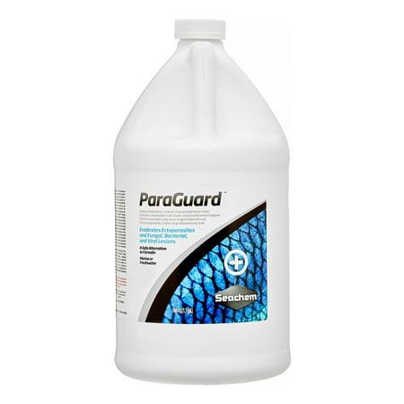 Seachem Fish Medication - Seachem ParaGuard Bacterial & Fungal Infections Fish & Aquatic Supplement, 135.2 Oz
