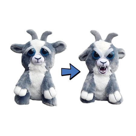 Goat Stuffed Animal (Feisty Pets by William Mark- Junkyard Jeff Adorable 9
