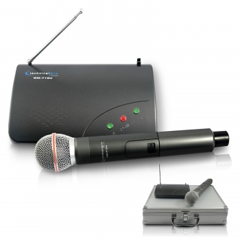 Single UHF Handheld Microphone System by Coleman