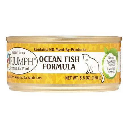 Sunshine Mills Triumph Ocean Fish Formula Wet Cat Food, 5.5 Oz