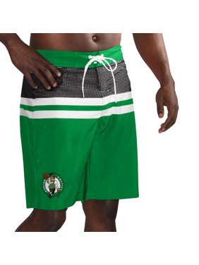 89694945ed Product Image Boston Celtics G-III Sports by Carl Banks Interception Swim  Trunks - Kelly Green/