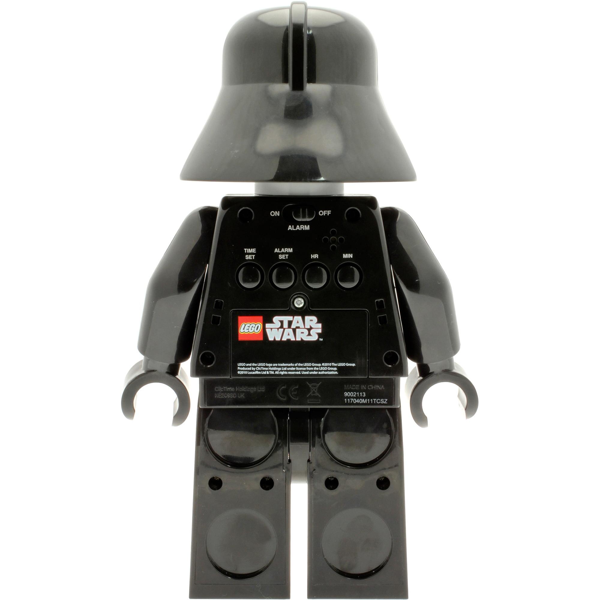 Lego Star Wars Darth Vader Kids' Minifigure Moveable Alarm Clock   Walmart