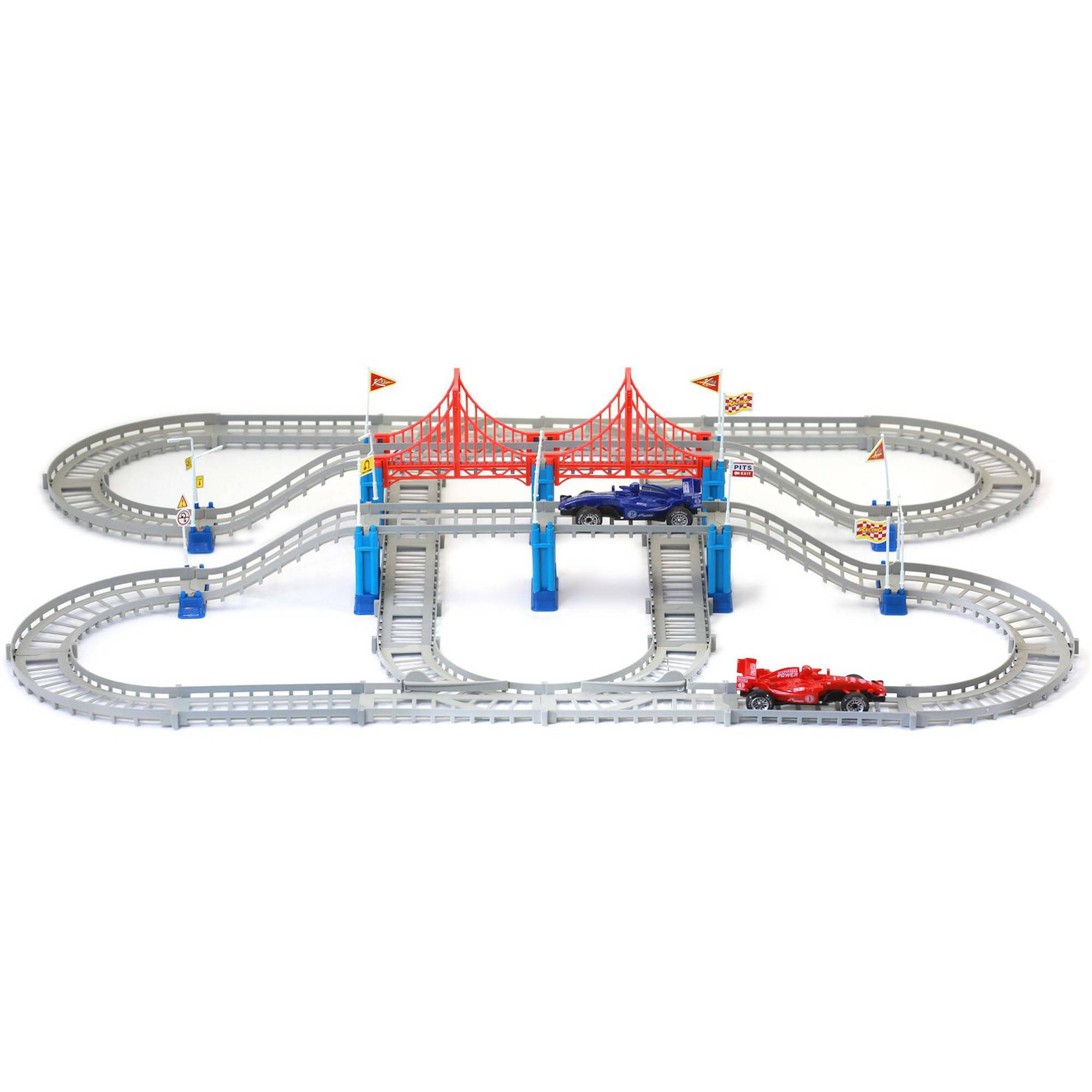 Mukikim Build A Track, The Race