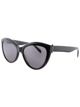 Alexander McQueen AM0003S 001 Women's Cat Eye Sunglasses