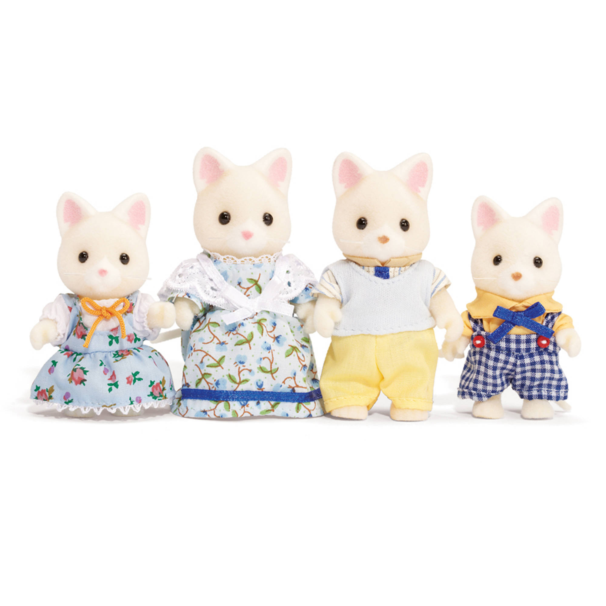 International Playthings Calico Critters Silk Cat Family