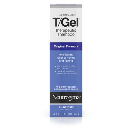 Neutrogena T/Gel Therapeutic Dandruff Treatment Shampoo, 4.4 fl. oz