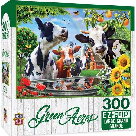 Green Acres Linen - Moo Love Large 300 Piece EZGrip Jigsaw