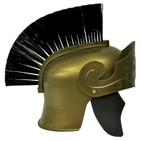 Halloween Roman Helmet Gold With Black Brush](Halloween Brushes)