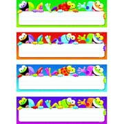 "Trend Enterprises Frog-tastic! Desk Toppers Name Plates Variety Pack, 2.87"" x 9.5"", 32pk"