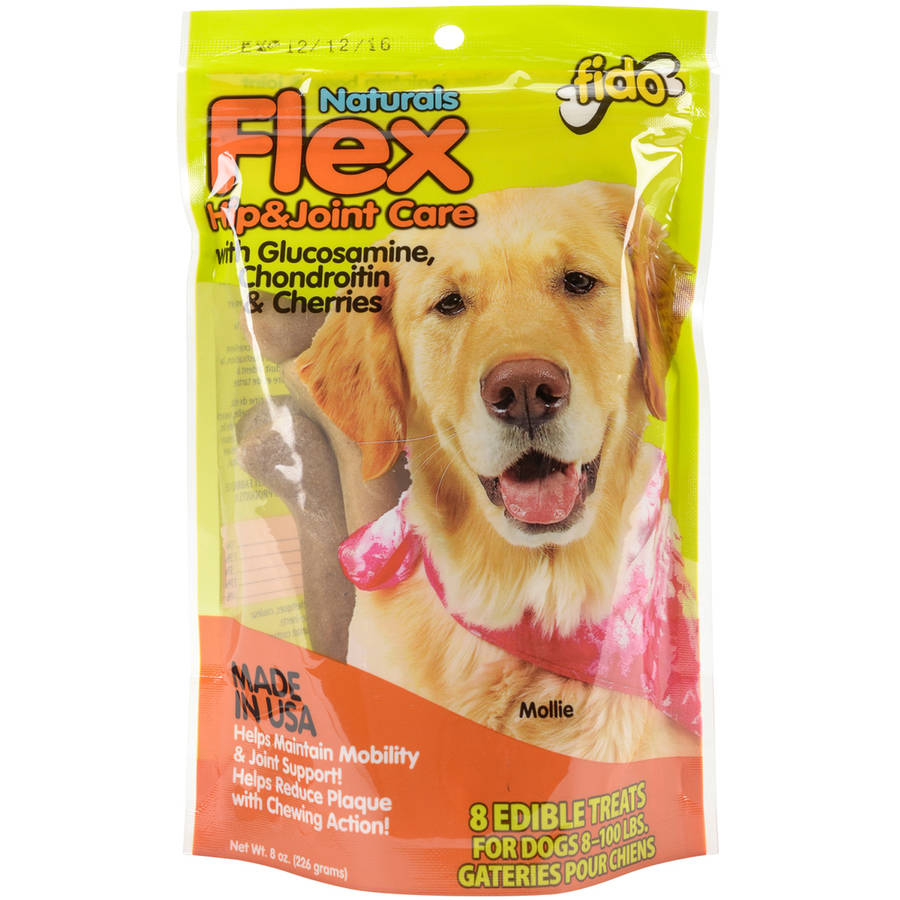 Naturals Flex Hip and Joint Care Treats, 8 oz Bag, Medium